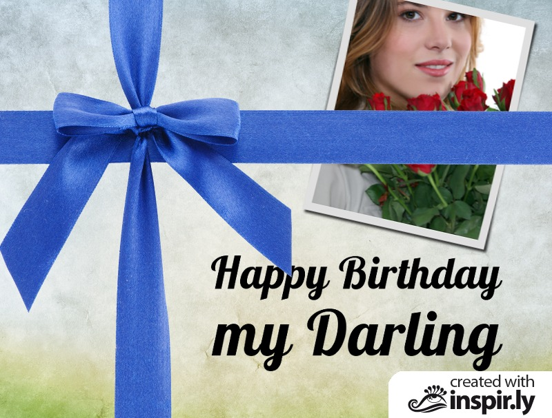 Birthday-Happy Birthday my Darling